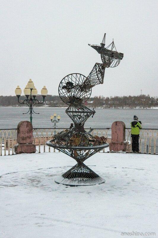 Современная скульптура, Рыбинск