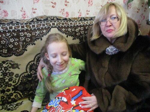 С Рождеством! Подарки детям-инвалидам!