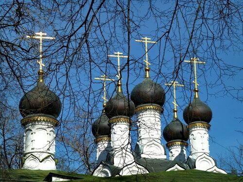 Церковь Николая Чудотворца, что на Студенце. Главы.