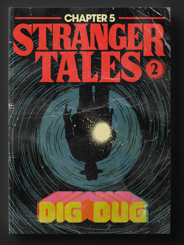 Stranger Tales – Les episodes de Stranger Things facon livres d'horreur des annees 80
