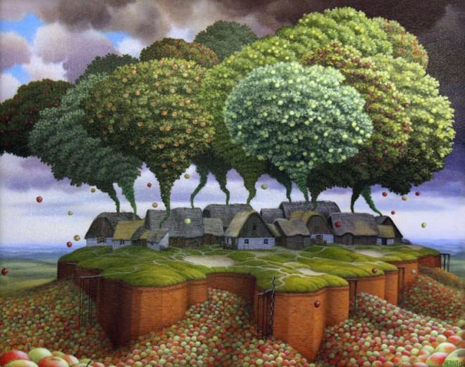 Dream Worlds - Jacek Yerka
