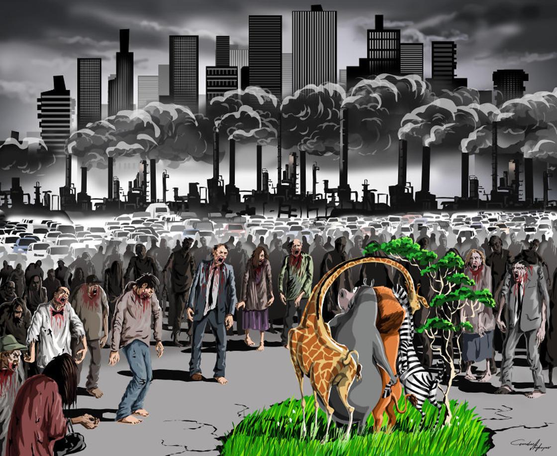Sad World – Les nouvelles illustrations satiriques de Gunduz Agayev (23 pics)