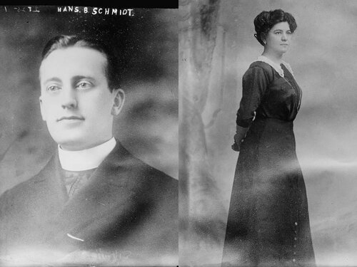 Ханс Шмидт и Анна Аумюллер