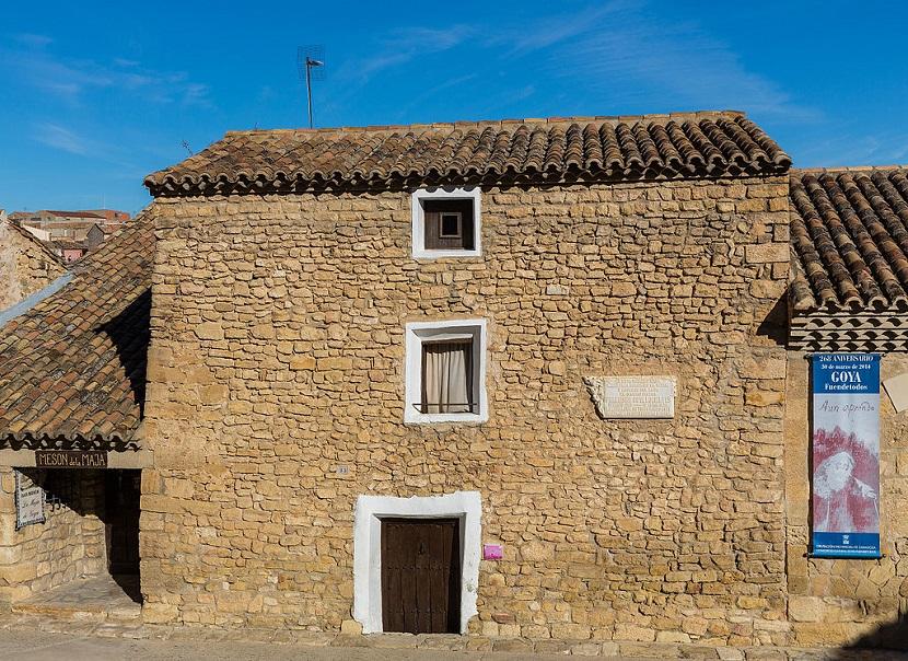 Дом рождения Франсиско Гойя, Фуэндетодос, Сарагоса, Испания.JPG