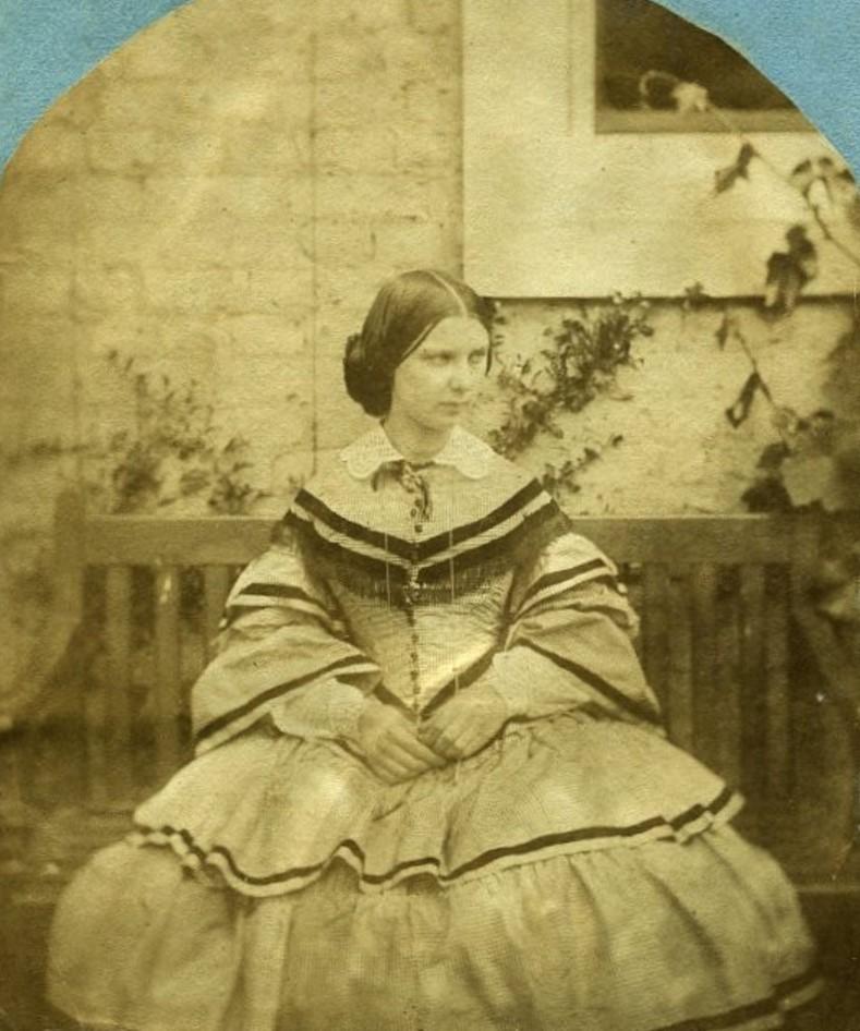 1860. Жена преподобного Витса