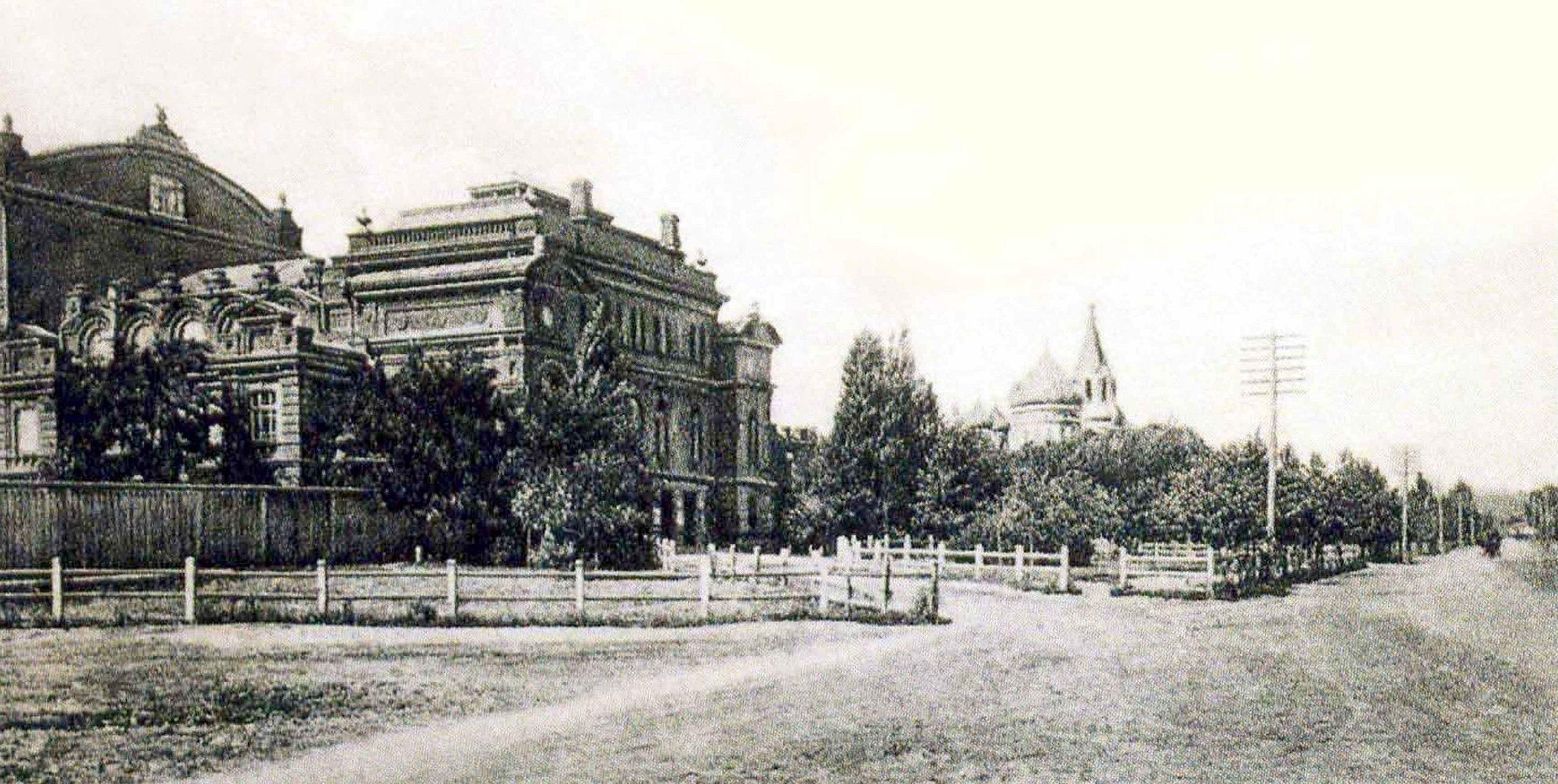 Народный дом.  Старомосковская 98