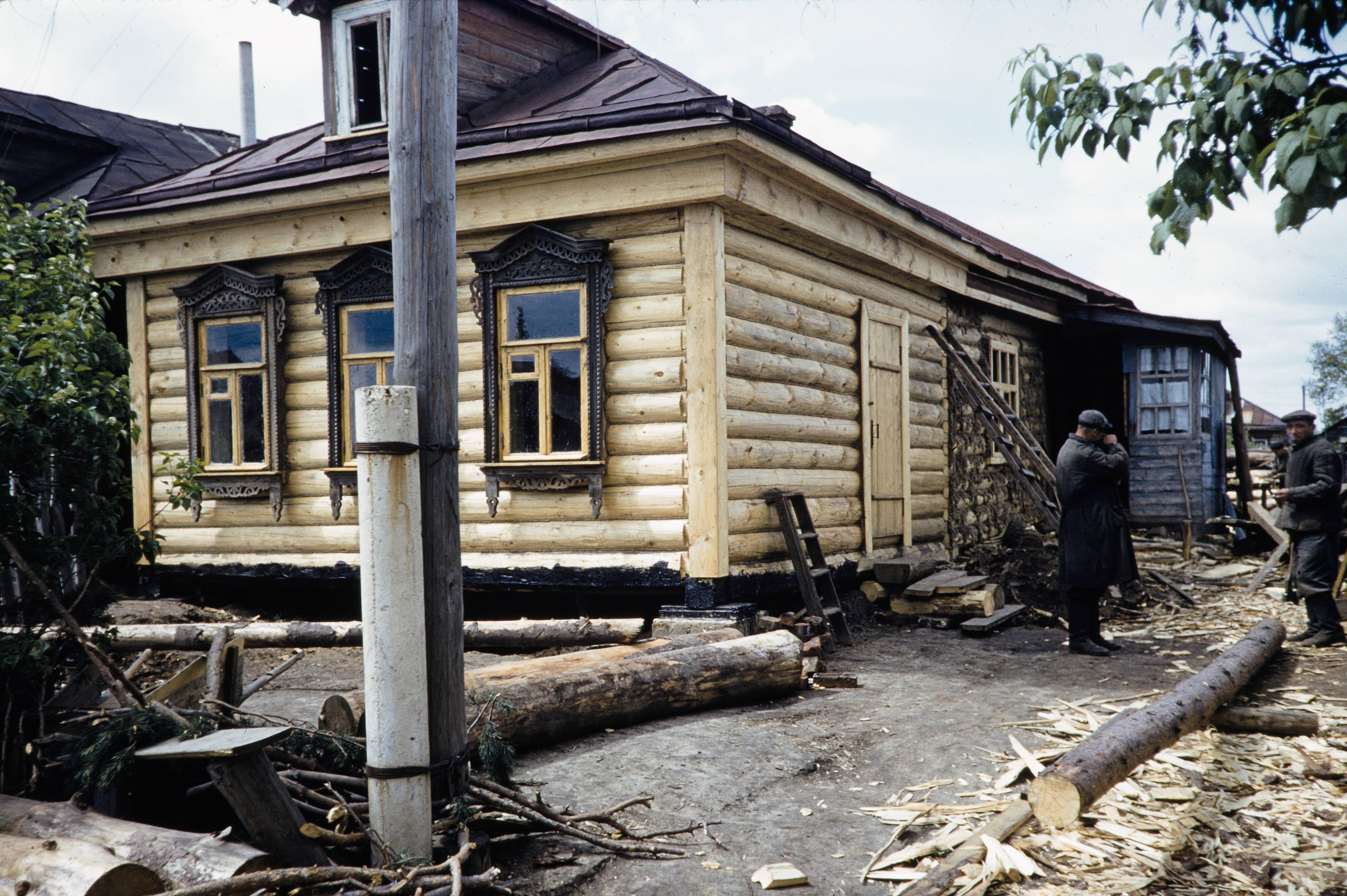Отремонтированный дом