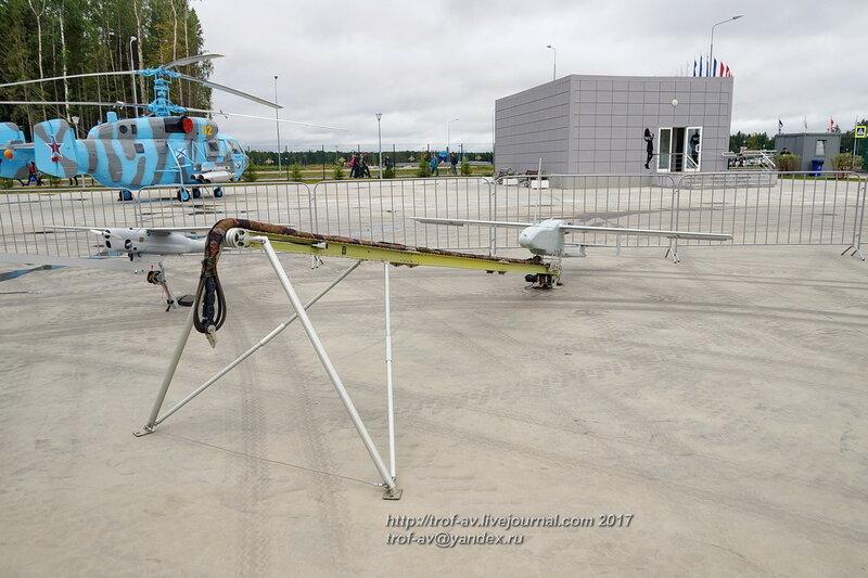 БПЛА Гранат-4 на форуме Армия-2017 в парке Патриот