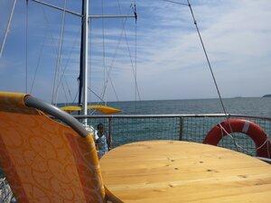 Прогулка на яхте - отдых в Керчи