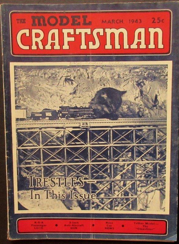 The Model Craftsman, 1943-03