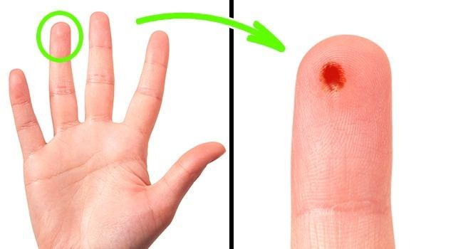 © depositphotos      Во-первых,  большой палец имизинец связаны напрямую скистью