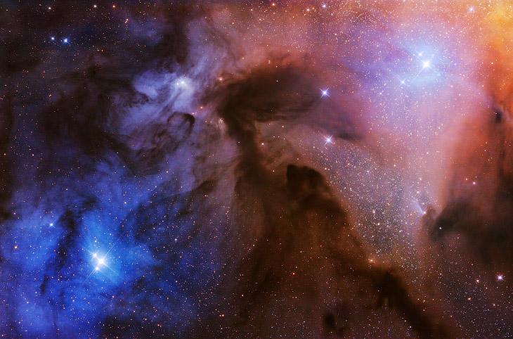 1. Категория «Звезды и туманности». Звездные треки. Выдержка 287 x 300 секунд.
