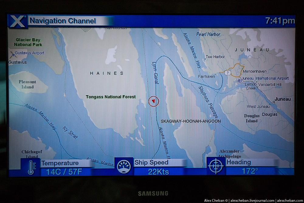 12. Также есть несколько служебных телеканалов, один показывает анонс следующего порта и активностей