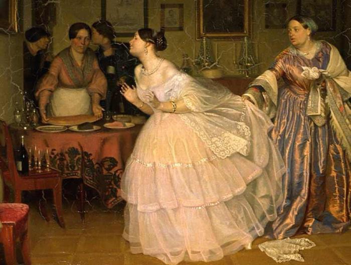 Кропотливым сбором приданного для многочисленных царских дочерей занималась супруга императора Павла