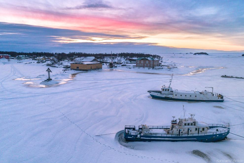 HD острова Белое море губы белье площадь белый