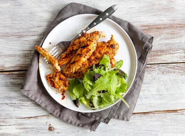 Курица с медовом соусе