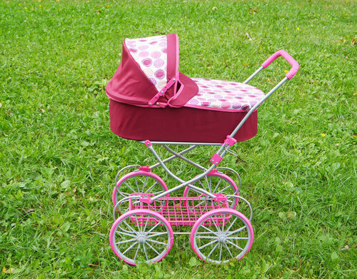 кукольная коляска Melobo 9673 Модерн