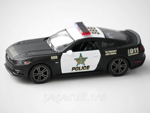 Kinsmart Ford Mustang GT Police