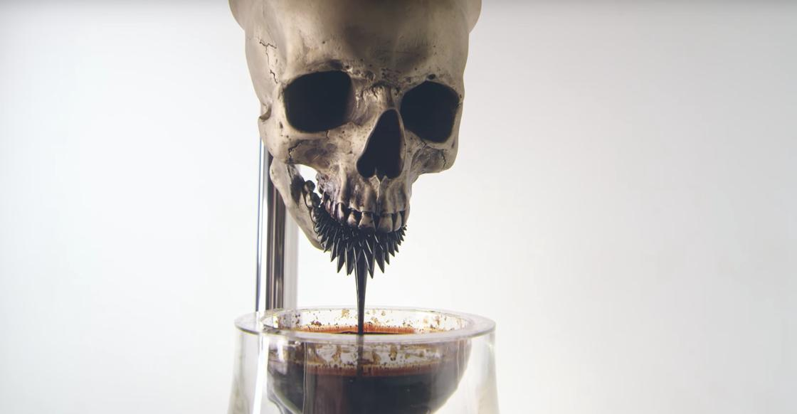 Killing Time – A fascinating kinetic sculpture based on ferrofluid