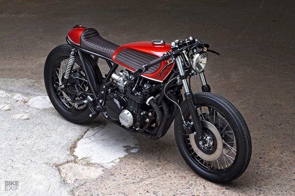 PAAL Motorcycles: кафе рейсер Kawasaki KZ650
