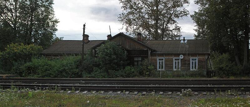 Бывший деревянный вокзал