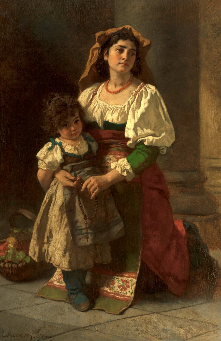 Mother and Child, 1878.
