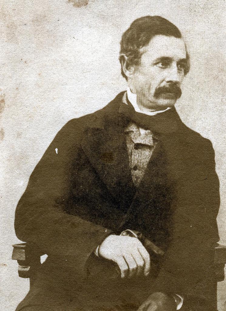 1850-е. Полковник сэр Томас Ситон, герой подавления индийского мятежа