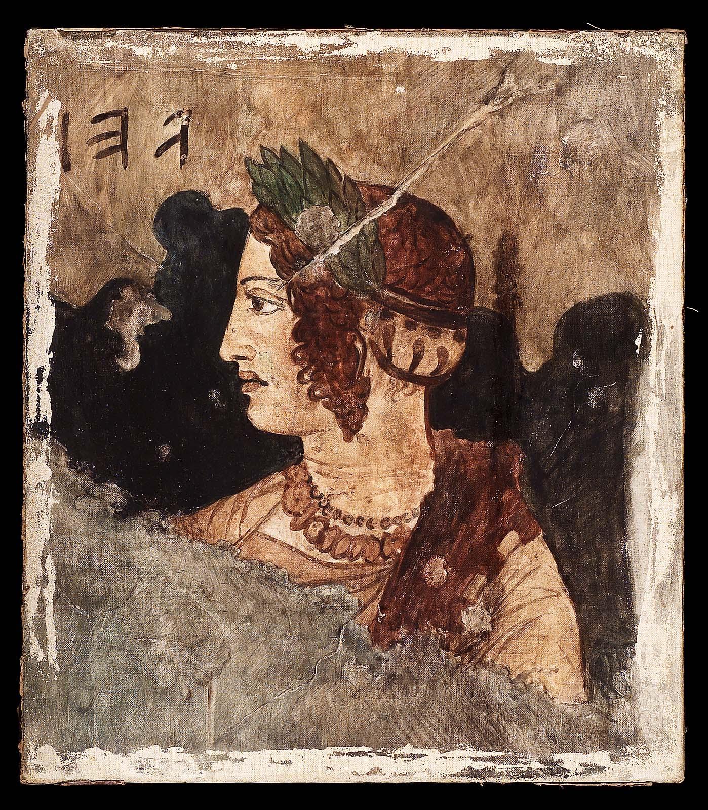 Гробница Орко. Изображение жены усопшего