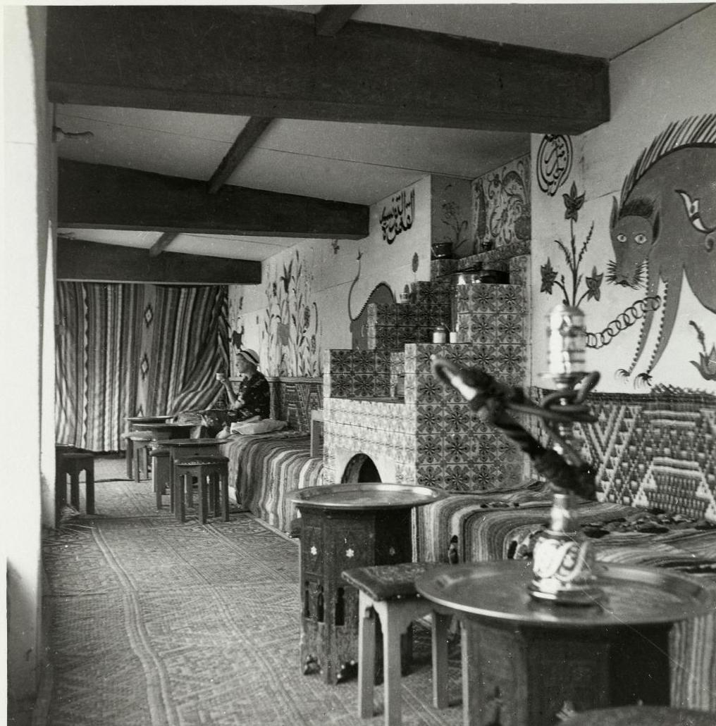 Павильон Туниса. Кафе «Море». Интерьер