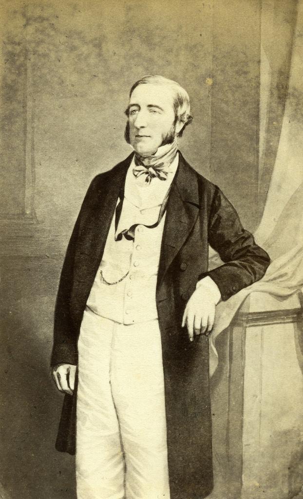 1860. Граф Ильчестера