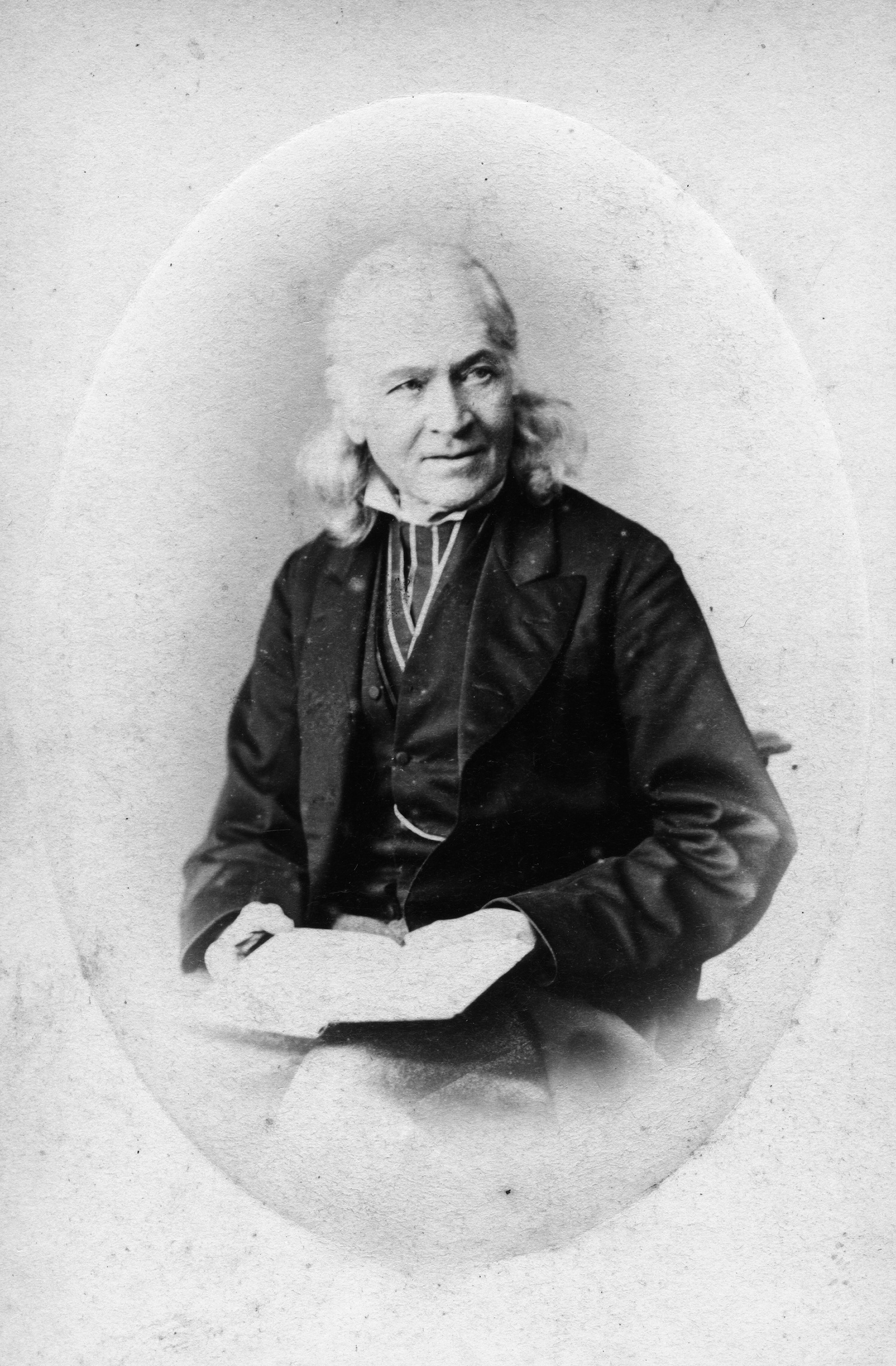 1865. Неизвестный мужчина
