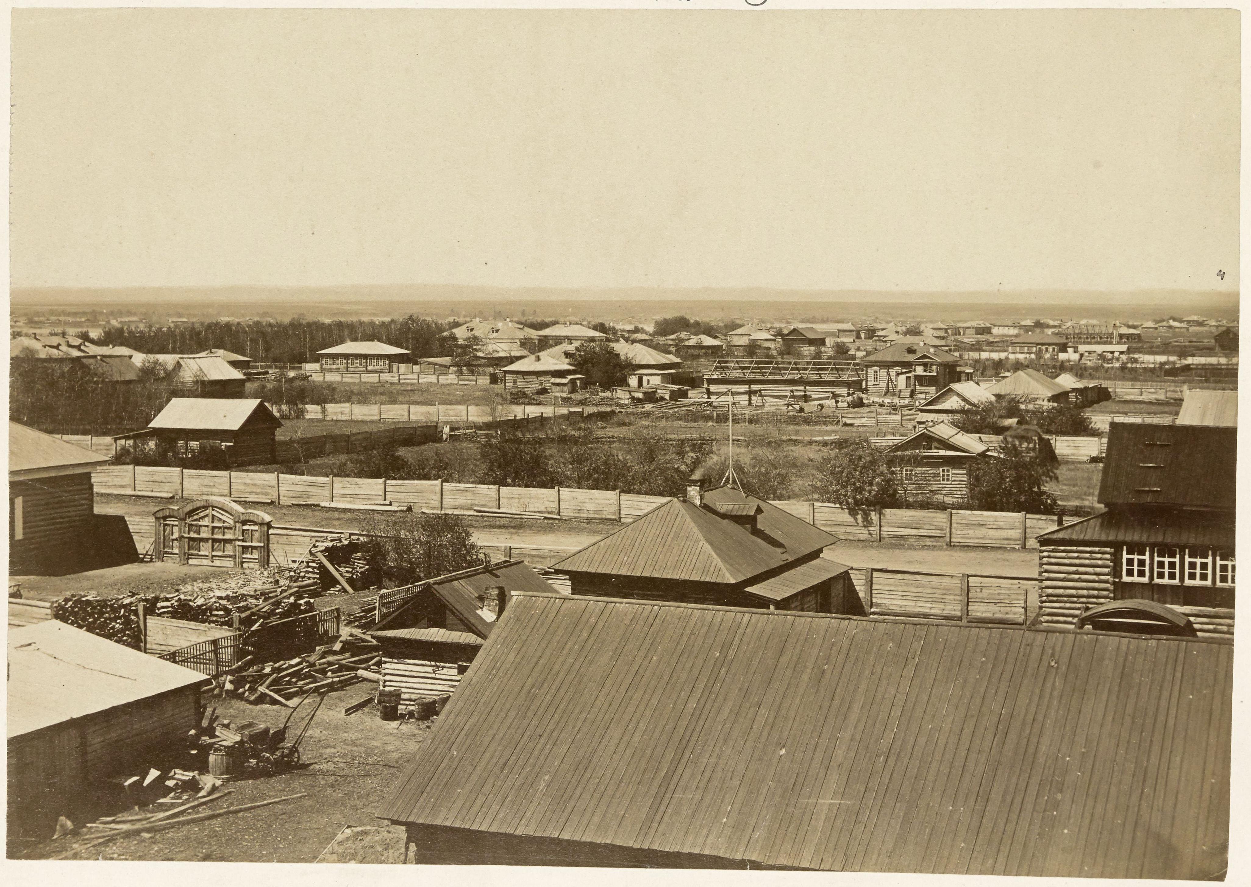 Общий вид города. 1870