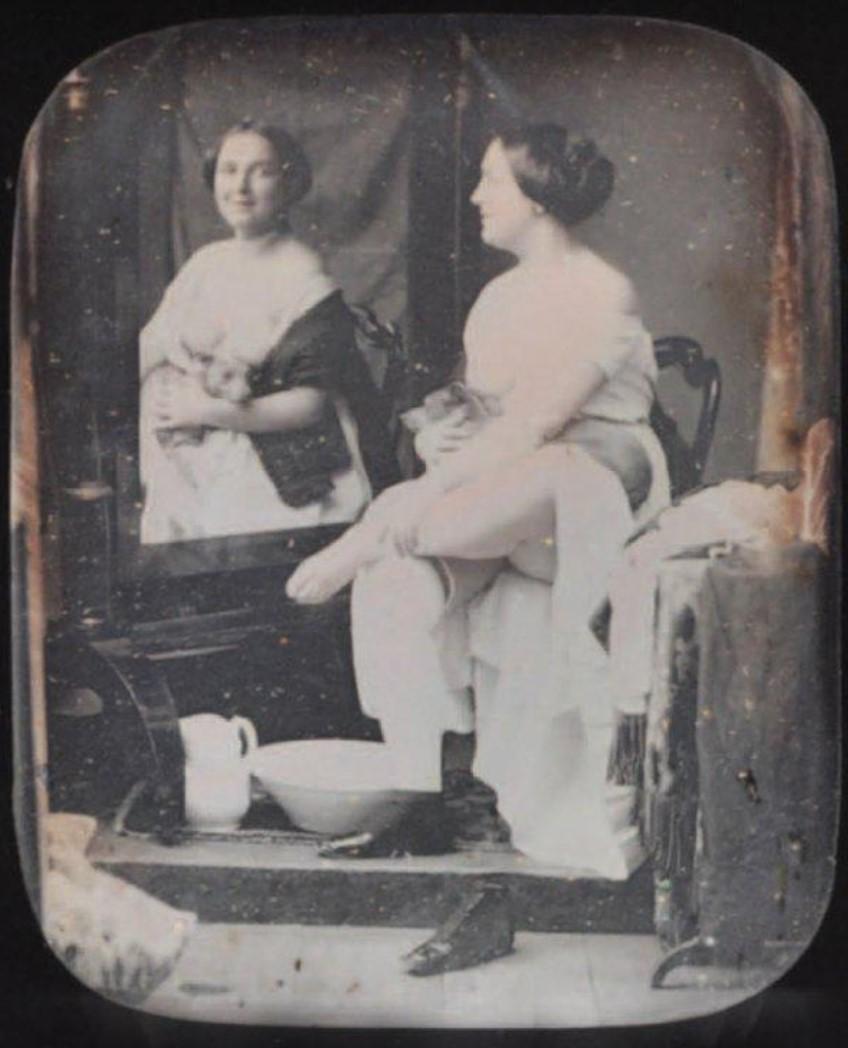 1850. Утренний туалет