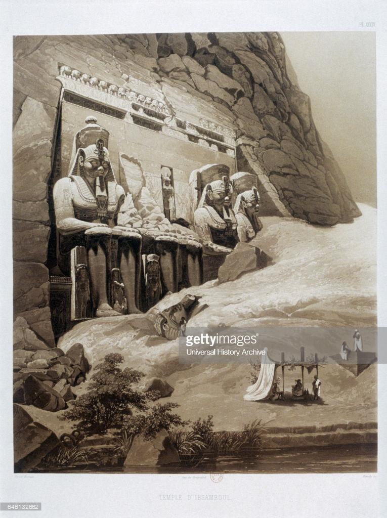 1841. Храм Абу-Симбел