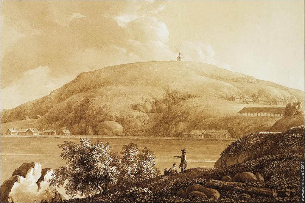 Штольня и часовня на Лисьей горе Нижний Тагил