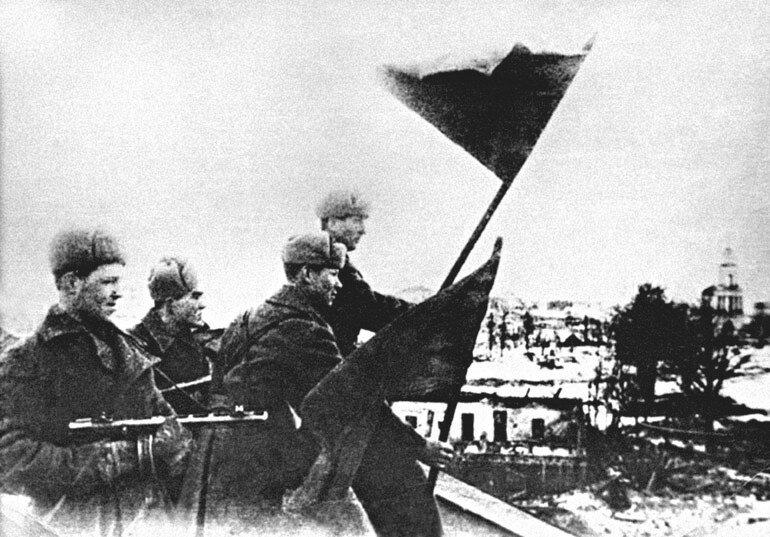 «Красная звезда», 5 марта 1943 года, Знамя освобождения над Ржевом