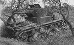 Подбитый танк Т-26 обр. 1933 г. Испания.