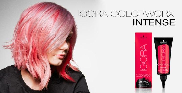 Прямое Нанесение – Используйте IGORA ColorWorx на волосах блонд или  предварительно обесцвеченных волосах для интенсивных 114d5e9067cc4