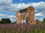Руины храма в Колтово
