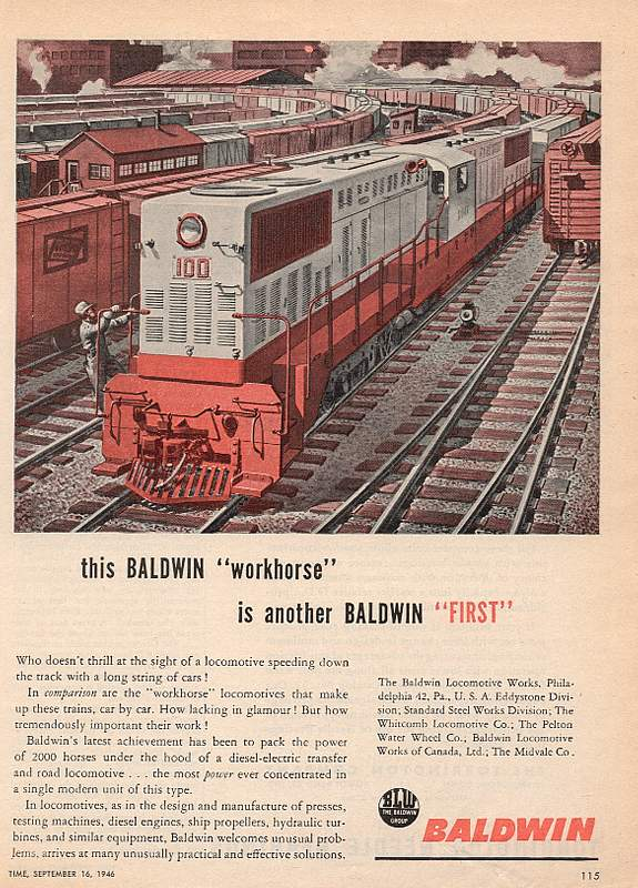 Когда паровозы были новыми...