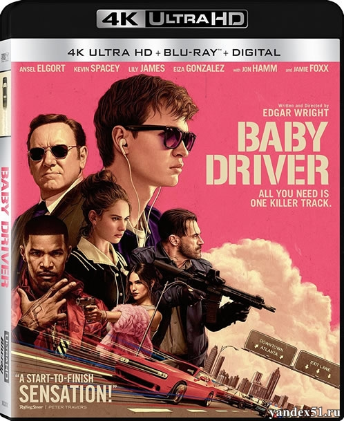Малыш на драйве / Baby Driver (2017) | UltraHD 4K 2160p