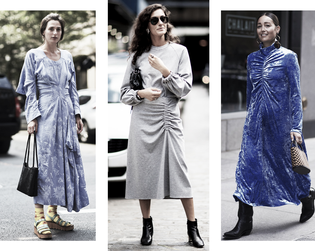 DISTRICT F - NEW YORK STREET STYLE SS18 drapes trend