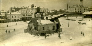 Площадь Чёрного рынка, улица Советская.
