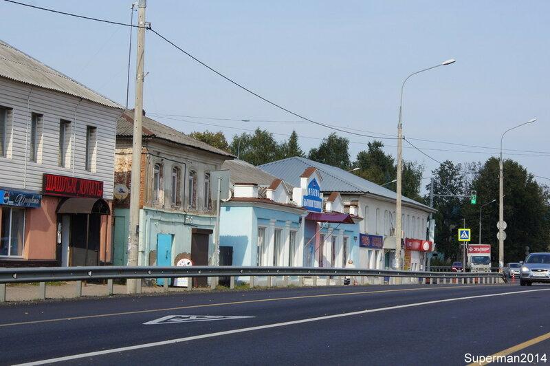 Petrovskoye Petrovsk, Rostovsky, city, church, settlement, Petrovsky, Petrovsky, back, ulSovetskaya, kilometers, near, county, Village, Yaroslavl, built, next, drawing, saints, apostles