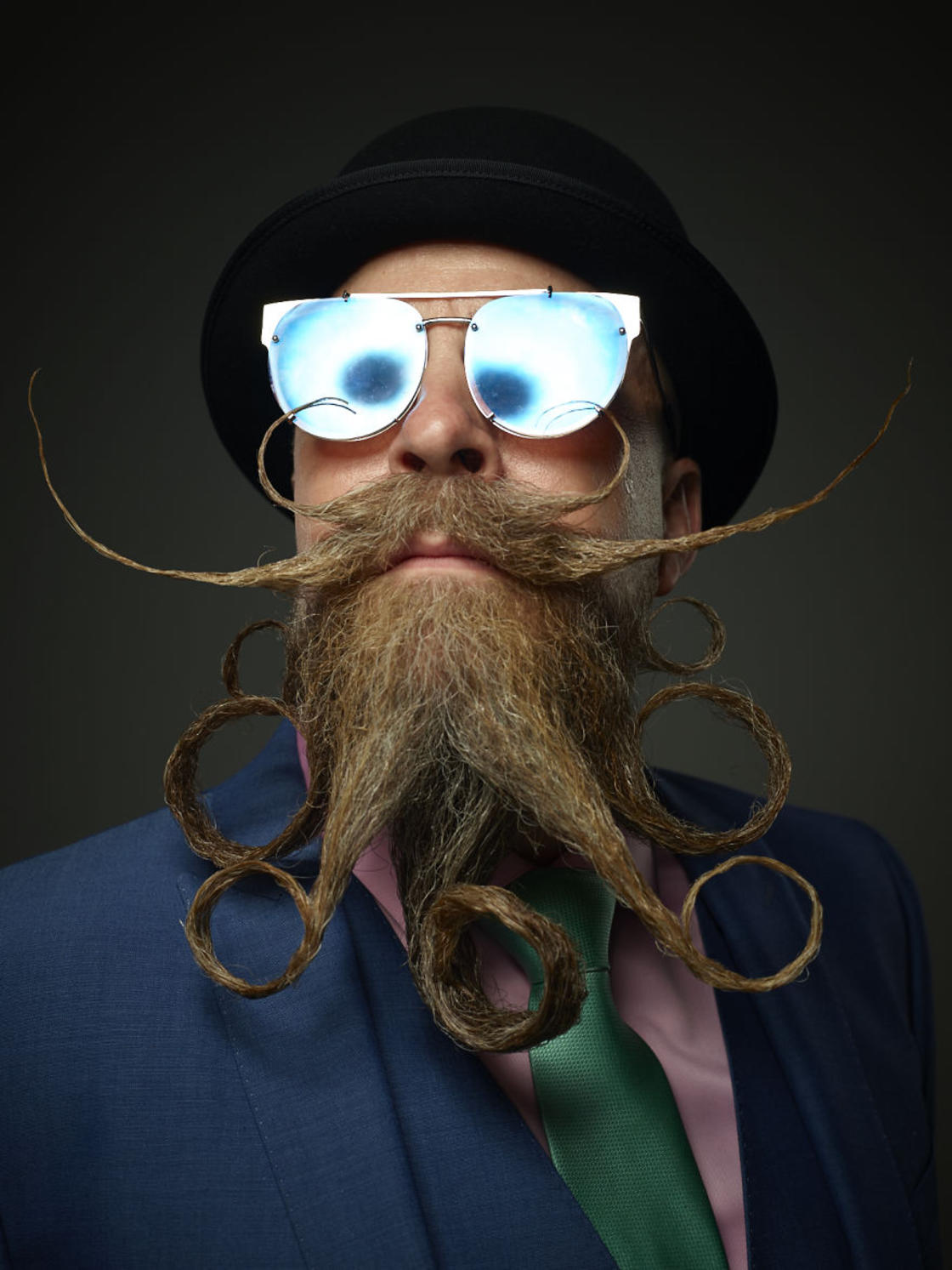 Here are the photos of the Beard and Moustache Championship 2017