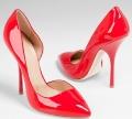 Туфли красные. Одна пара.