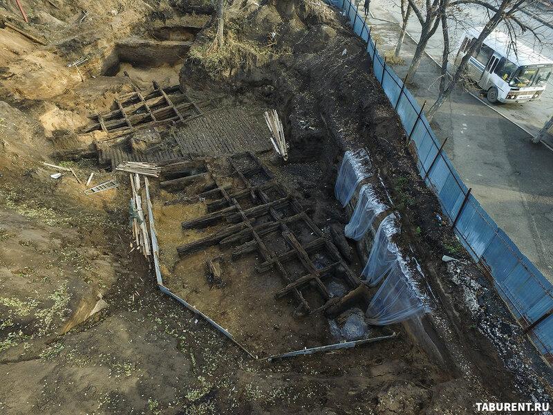 Крепость Самара. Раскопки 2017
