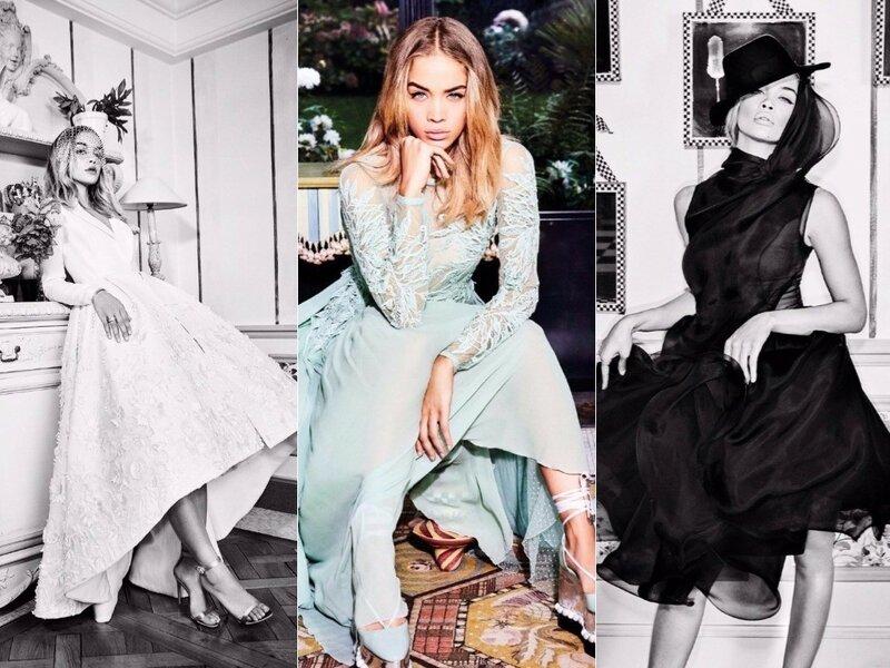 Jasmine Sanders для Vogue Arabia's December 2017