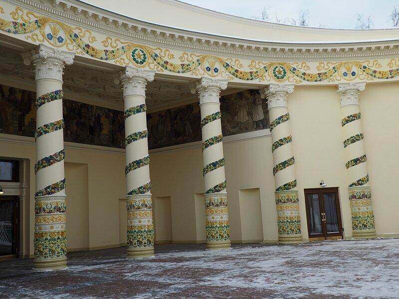 "Москва, ВДНХ – павильон «Республика Беларусь» (Moscow, VDNH - Pavilion ""Republic of Belarus"")"
