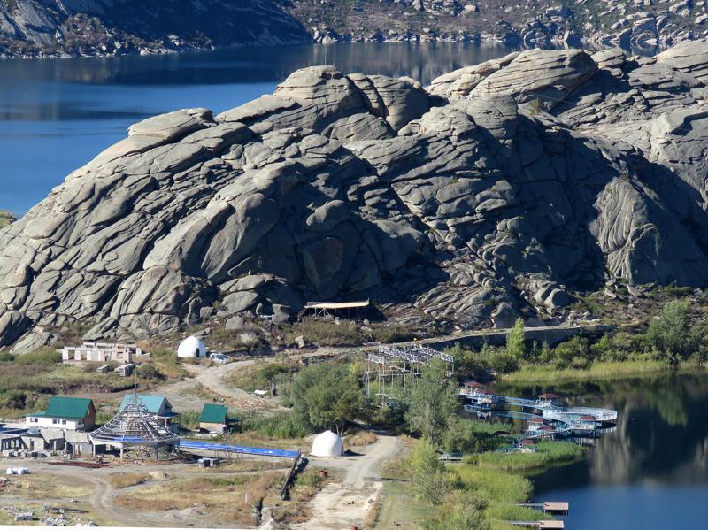 Калбинский хребет. Ак-Баур и Сибинские озёра.